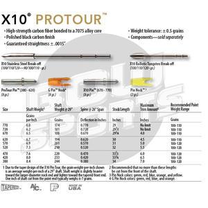Easton X10 Pro Tour 12 st